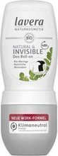 Lavera dezodorant roll-on INVISIBLE z ekstraktem z pereł, 50 ml